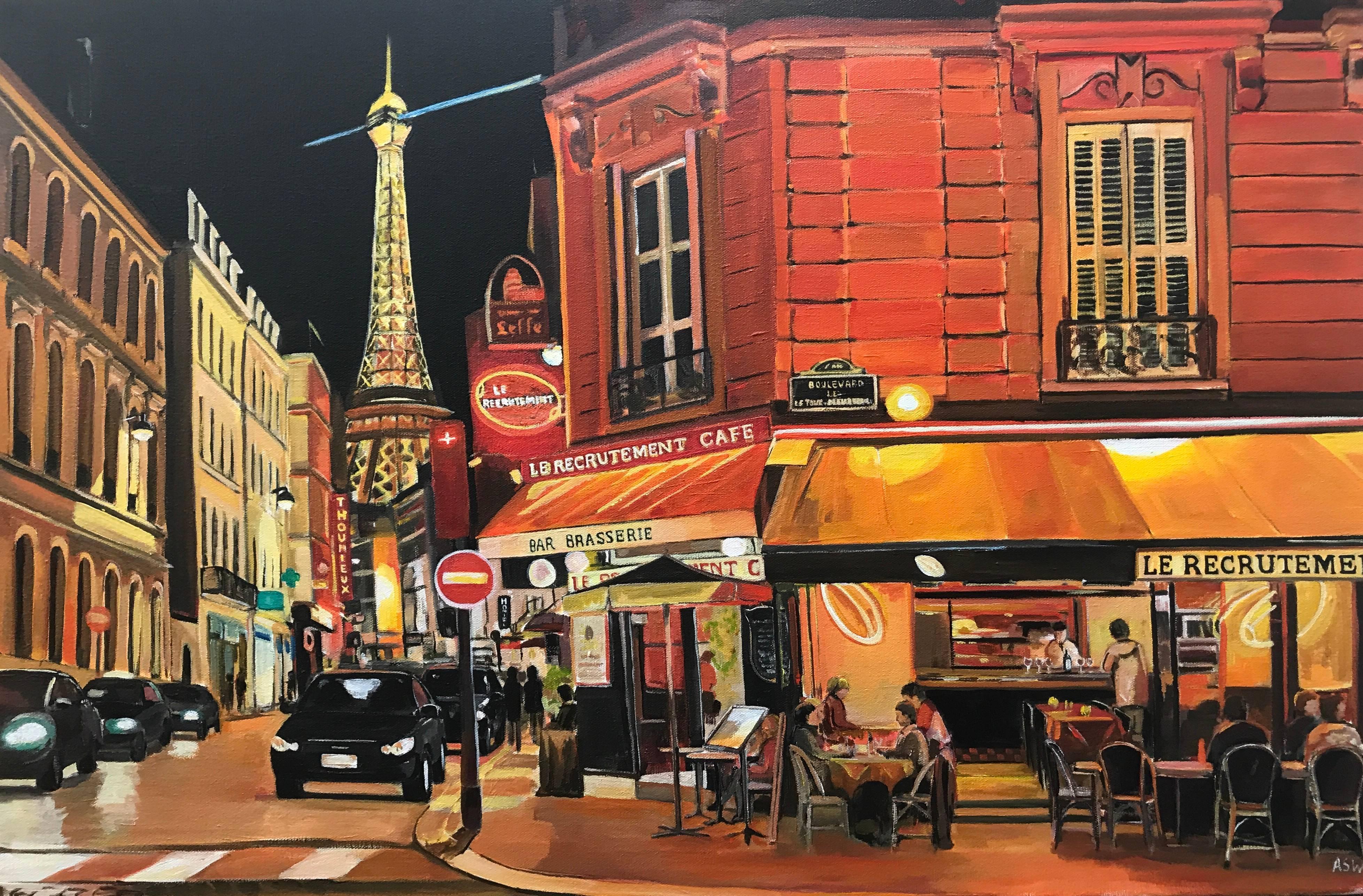 Angela Wakefield Parisian Café