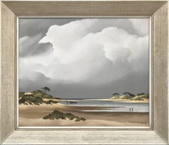 Coastal View, France by Award-Winning 20th Century French Landscape Artist