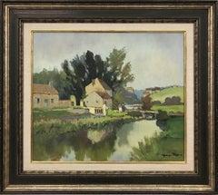 Moulin de Charbonneau – Sèvre Nantaise French Impressionistic Riverscape