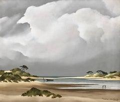 Coastal View France by Award-Winning 20th Century French Sea Landscape Artist
