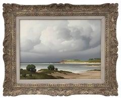 """""""Sur le Cote, Bretagne"""" - 20th Century, Post-War, French Landscape Painting"""