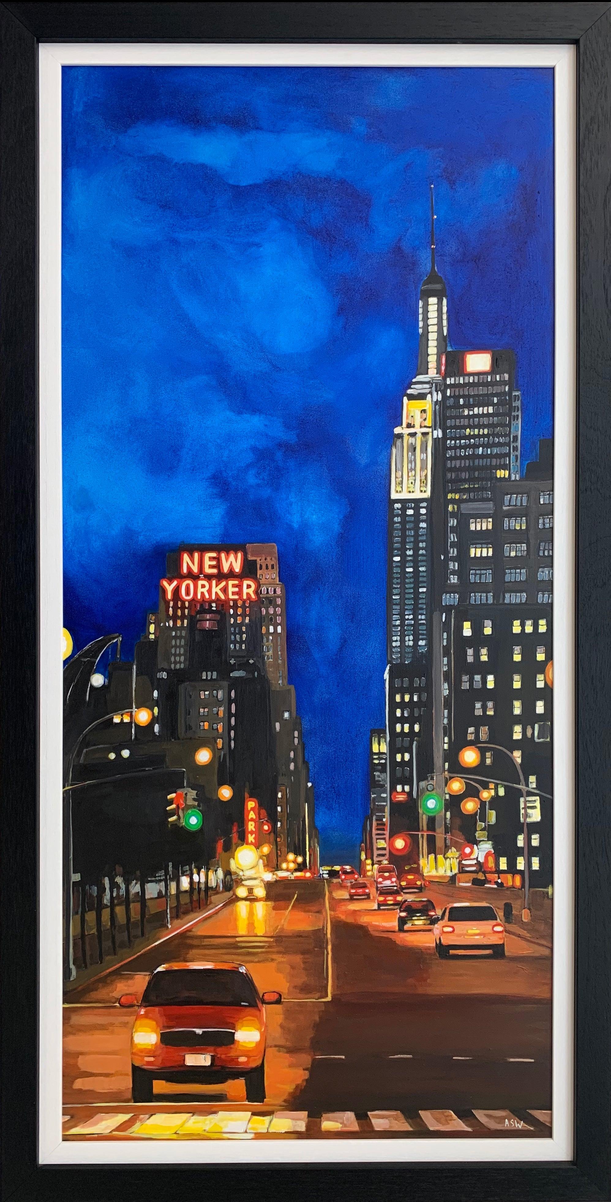 The New Yorker Hotel 8th Avenue Manhattan New York City by British Urban Artist