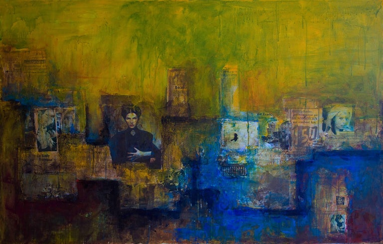 Robert van Bolderick Abstract Painting - Black Bird