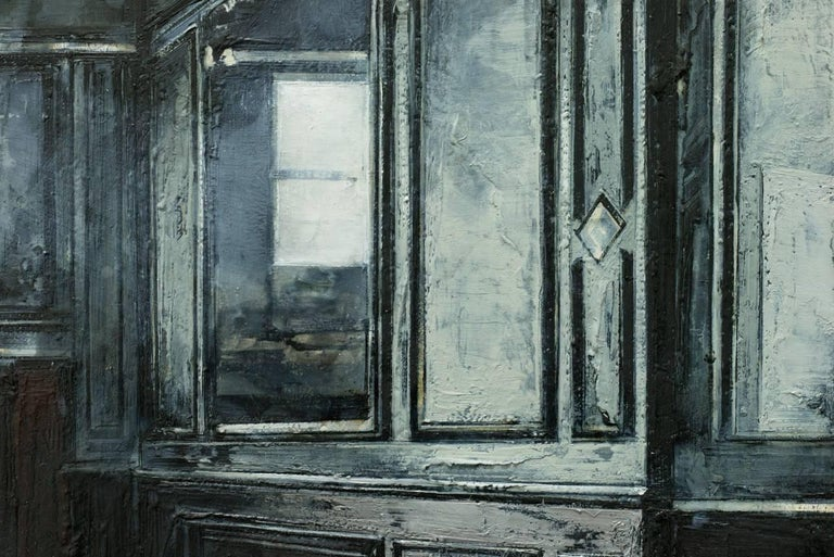 My Mirror My Gentle Reflection - Contemporary Painting by Mark Thompson