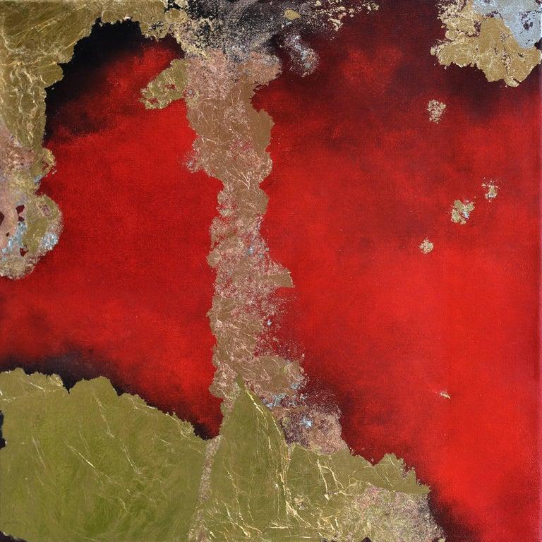 Kerstin Paillard Abstract Painting -  Terra Pericolosa