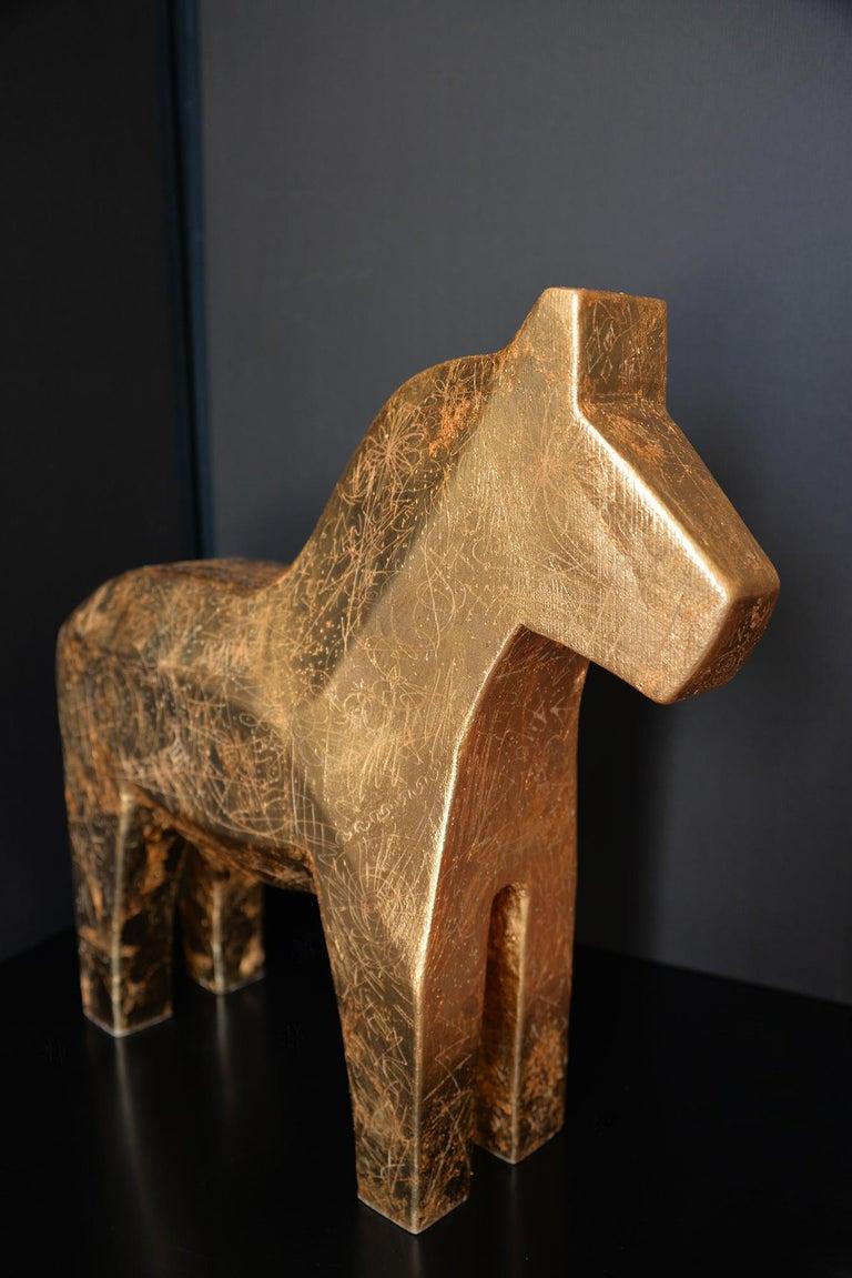 K-OD Figurative Sculpture - Azteca
