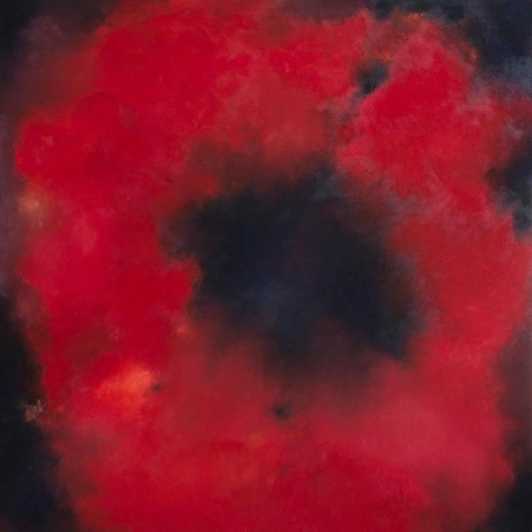 Kerstin Paillard Abstract Painting - Papaver Rhoeas