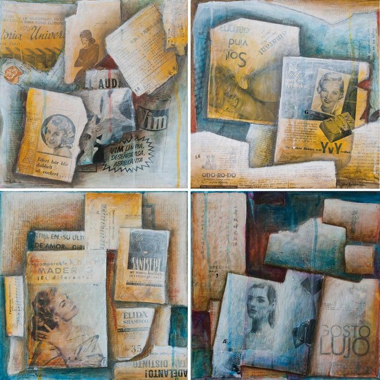 Para todo el mundo, Amarant, Maderas, Gosto Lujo four paintings