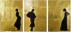 Charleston I-lll triptych