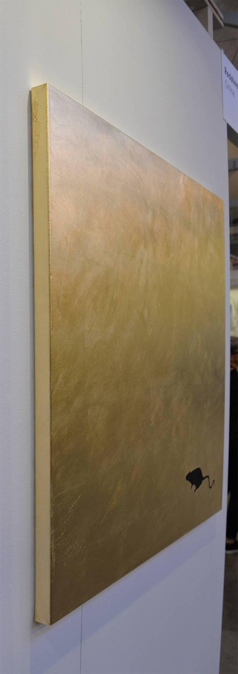 Golden Ratrace - Pop Art Painting by Kerstin Oldal