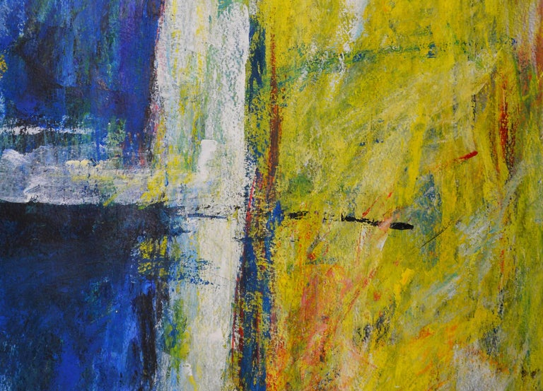 Untitled - Abstract Expressionist Painting by Stefan van Bolderick