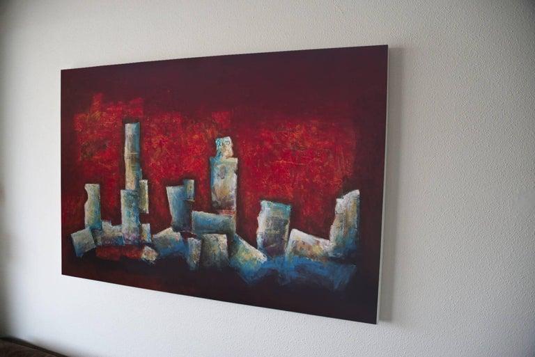Laurent - Abstract Painting by Robert van Bolderick