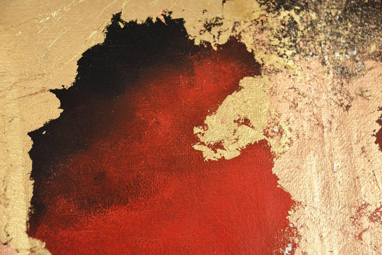 Terra Pericolosa - Painting by Kerstin Paillard