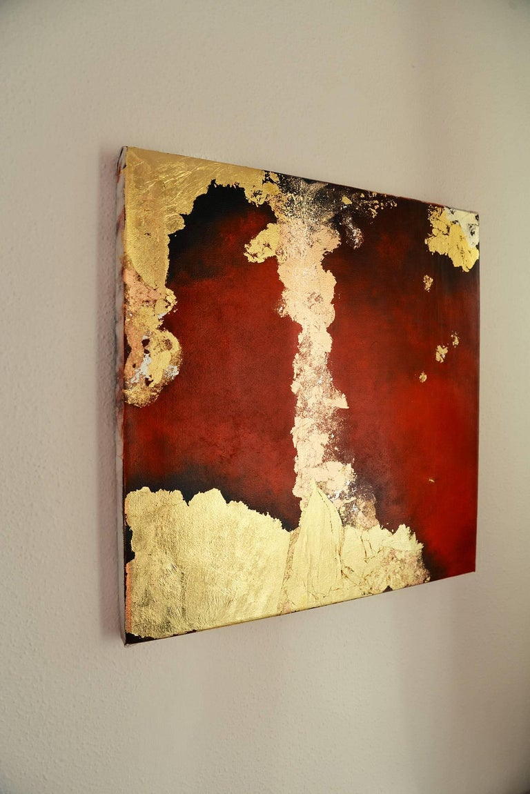 Terra Pericolosa - Abstract Painting by Kerstin Paillard