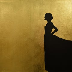 Gold Figurative Paintings