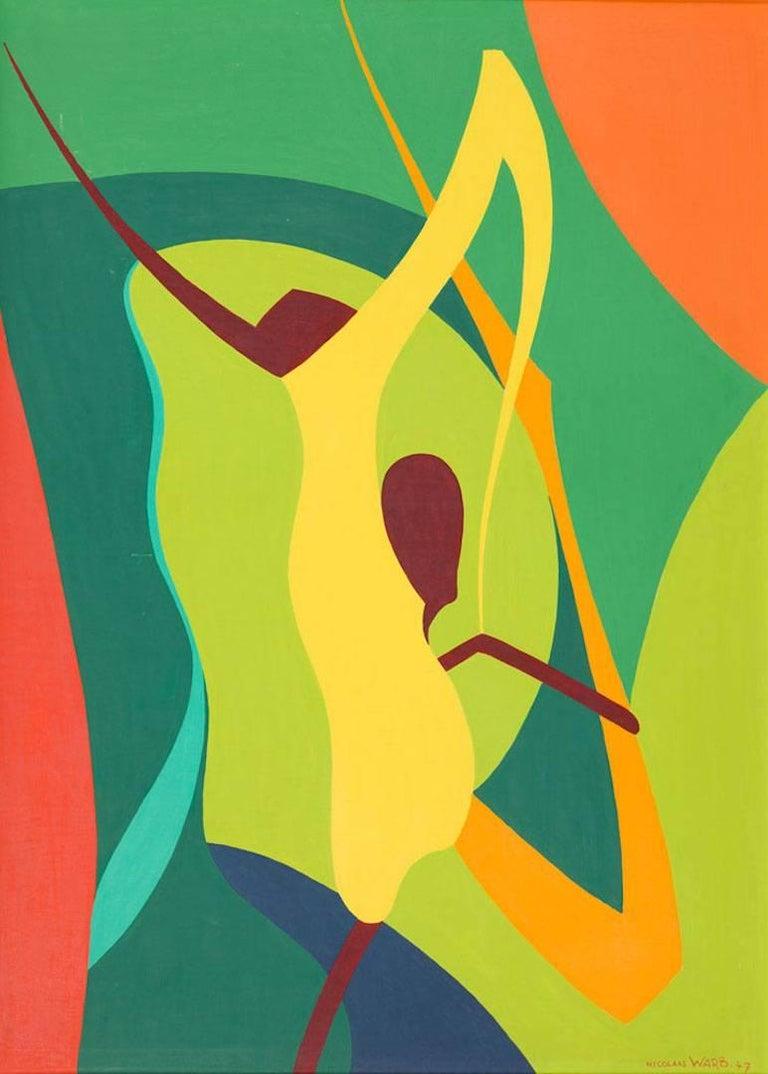 Nicolaas Warb (Sophia Warburg) Abstract Painting - Exorcisme