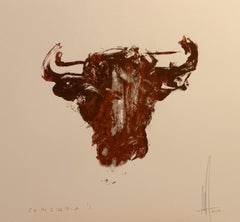 Toro III - Screen print ed.1/1 - Contemporary - hand signed - Marc Prat