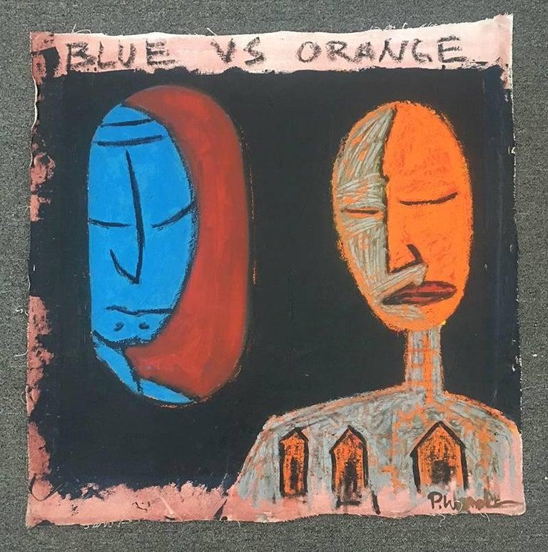 Blue Vs Orange