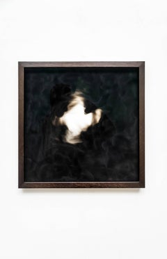 Equivalents no. 15 - Contemporary, abstract, candle soot, by Guy Haddon Grant
