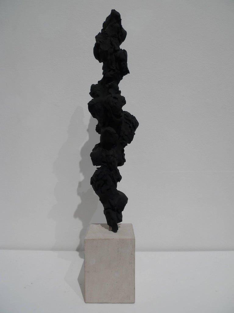 Artist Guy Haddon Grant is one of Britain's most important young sculptors. His aesthetically fascinating works are inspired by natural organic forms and the human figure. With works made from treasuries of raw substances, including charcoal,