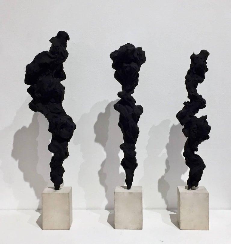 Black Totem no. 3 For Sale 3