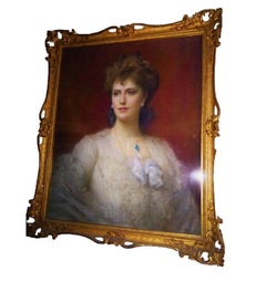Alice Keppel Portrait of National and Royal Importance H.R.H the Prince of Wales