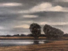 Jean Pierre Capron Oil on Canvas 1955 Galerie Drouant David Paris