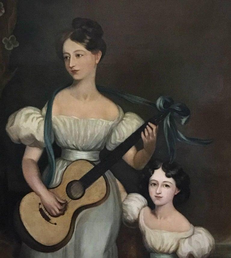 Huge Full length portrait of the Chandos-Pole Family Of Radbourne Hall England  3