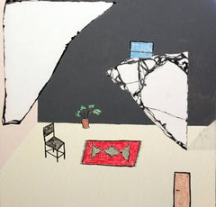 """""""Filling the Emptiness"""" - interior painting"""