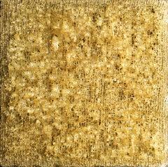 """Domus Aurea"" - 24K gold wall piece, gold artwork"