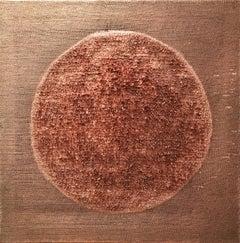 """Autumn Moon"" - copper artwork"