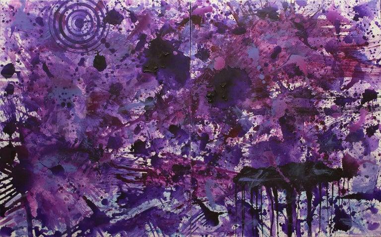 J. Steven Manolis Abstract Painting - PurpleField