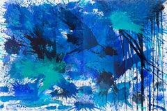 BlueLand Splash (Water Painting)