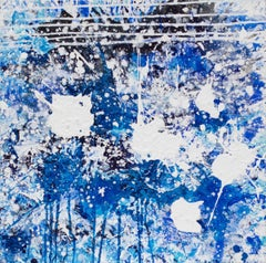 Splash (Blue) (Water Painting)