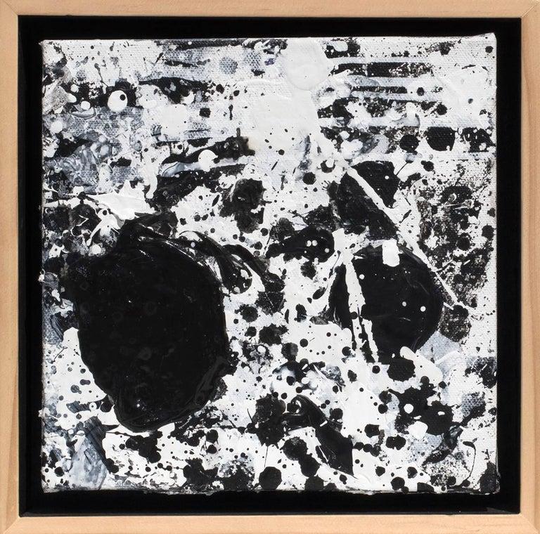 Black & White - Painting by J. Steven Manolis