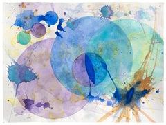 Concentric - Dance (Blue, Purple Painting)