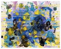 Water Rhapsody - Sun & Water (Blue Painting)