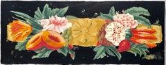Barette, Black (Floral, Fruit, Contemporary Ornamentalism, Porchoir Monoprint)