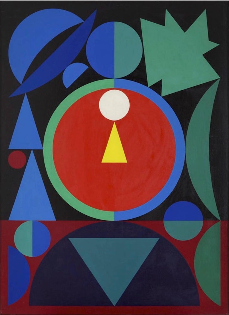 Auguste herbin eros ii painting for sale at 1stdibs for Auguste herbin