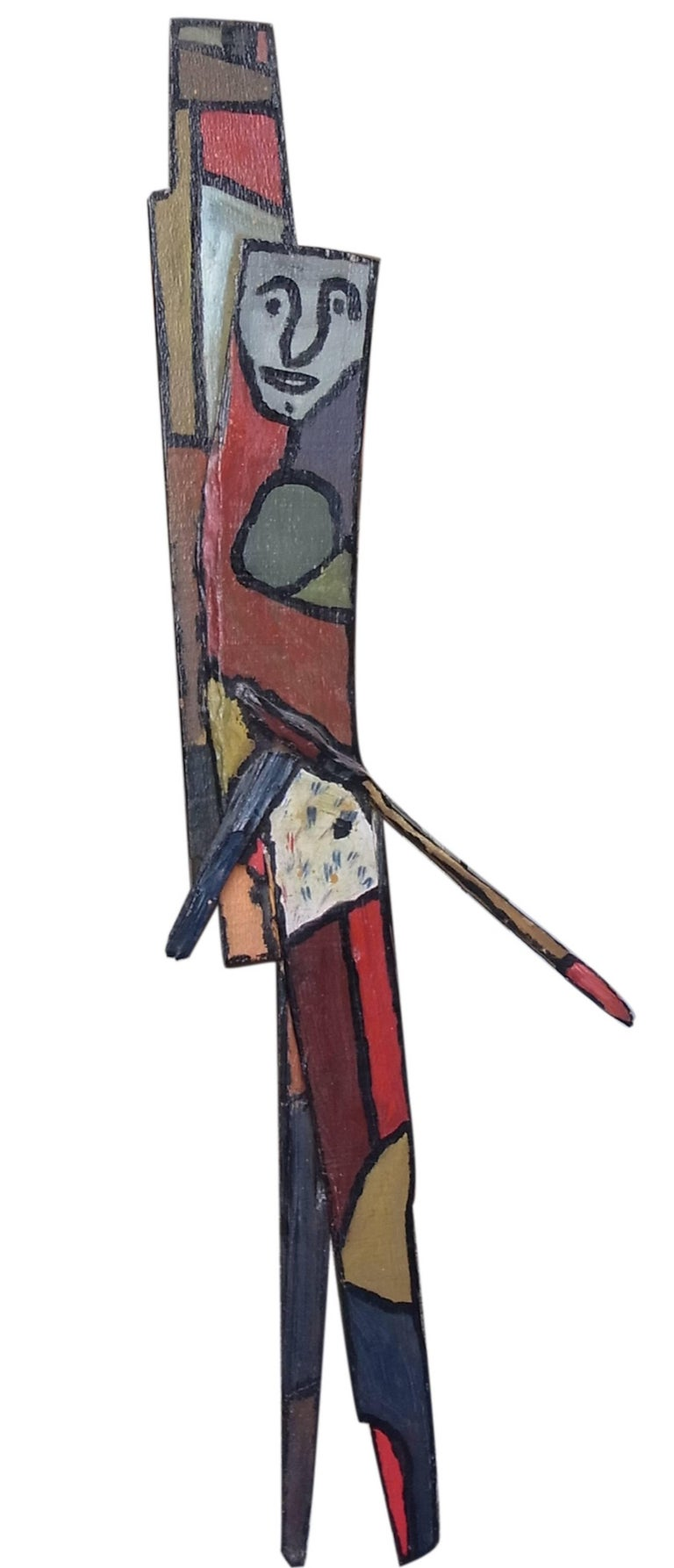 Gaston chaissac totem wood sculpture for sale at 1stdibs for Chaissac gaston