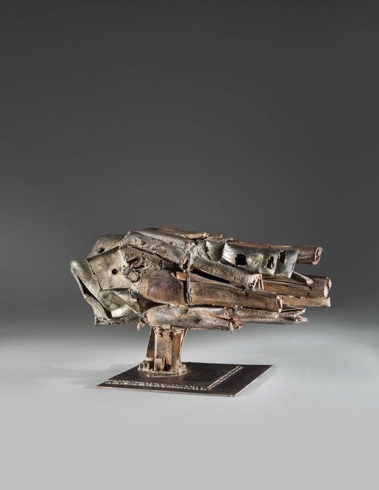 Moteur n°3 - Sculpture by César Baldaccini