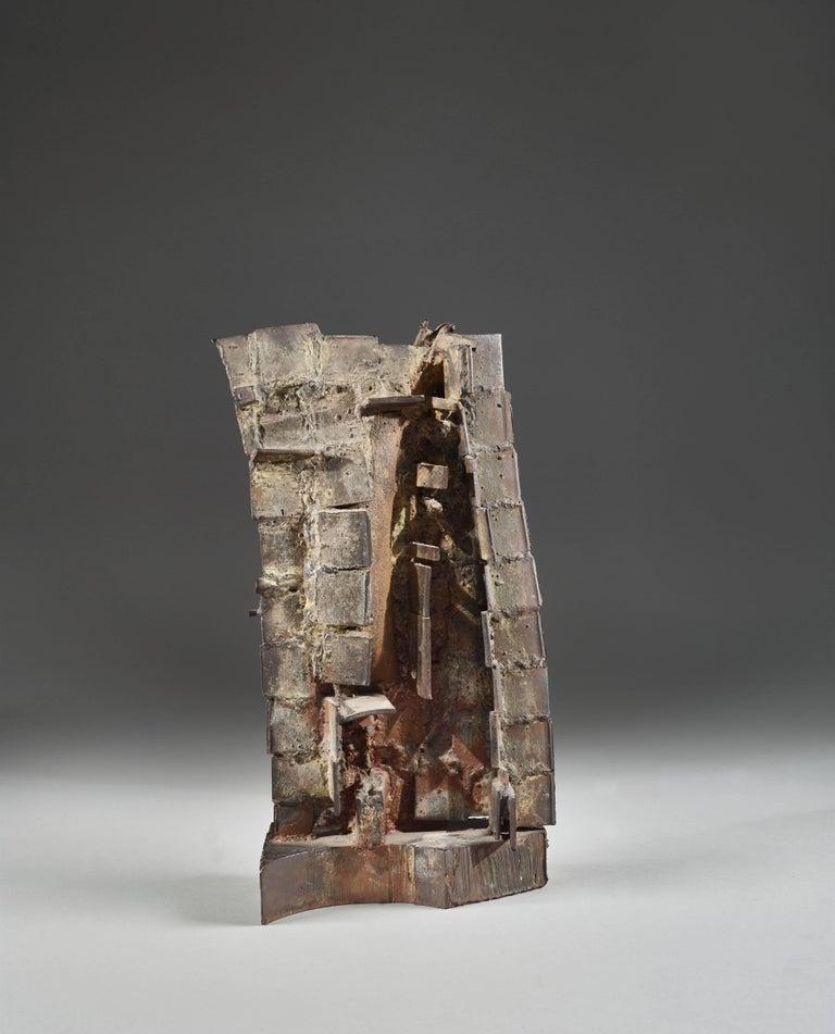 Construction (Plaque) - Sculpture by César Baldaccini