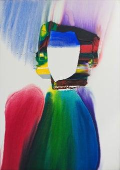 Paul Jenkins / Phenomena Helmet of Light / 1984