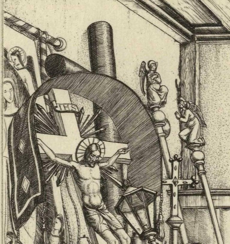 The Sacristan - Modern Print by Harry Morley