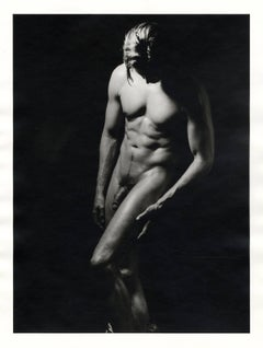 Stockton (full frontal male nude by pioneer female photographer)