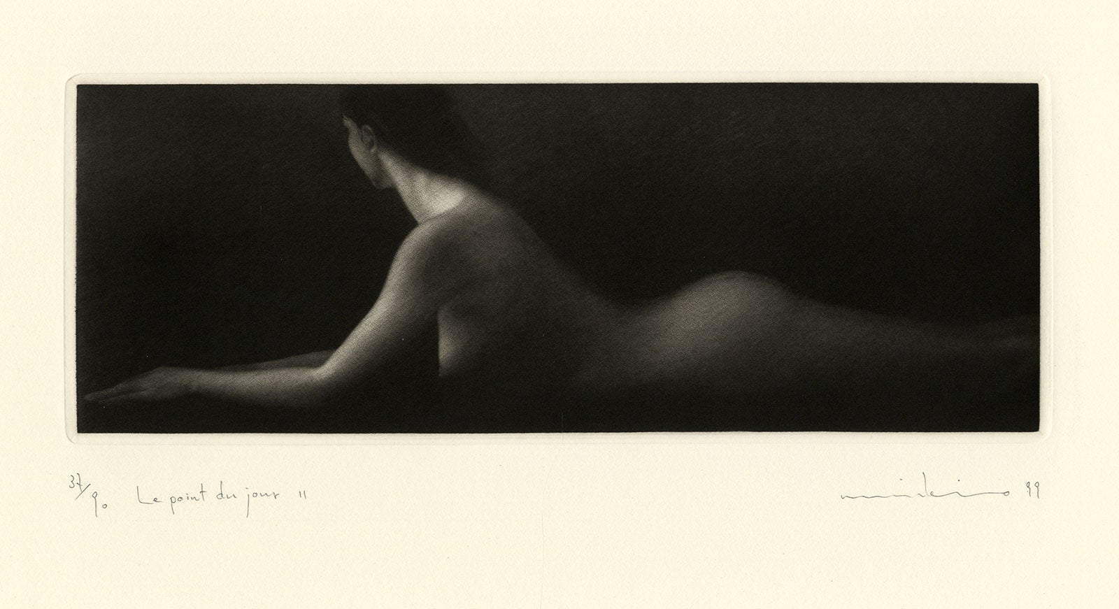Le Point du Jour II (A young nude woman in repose at daybreak)