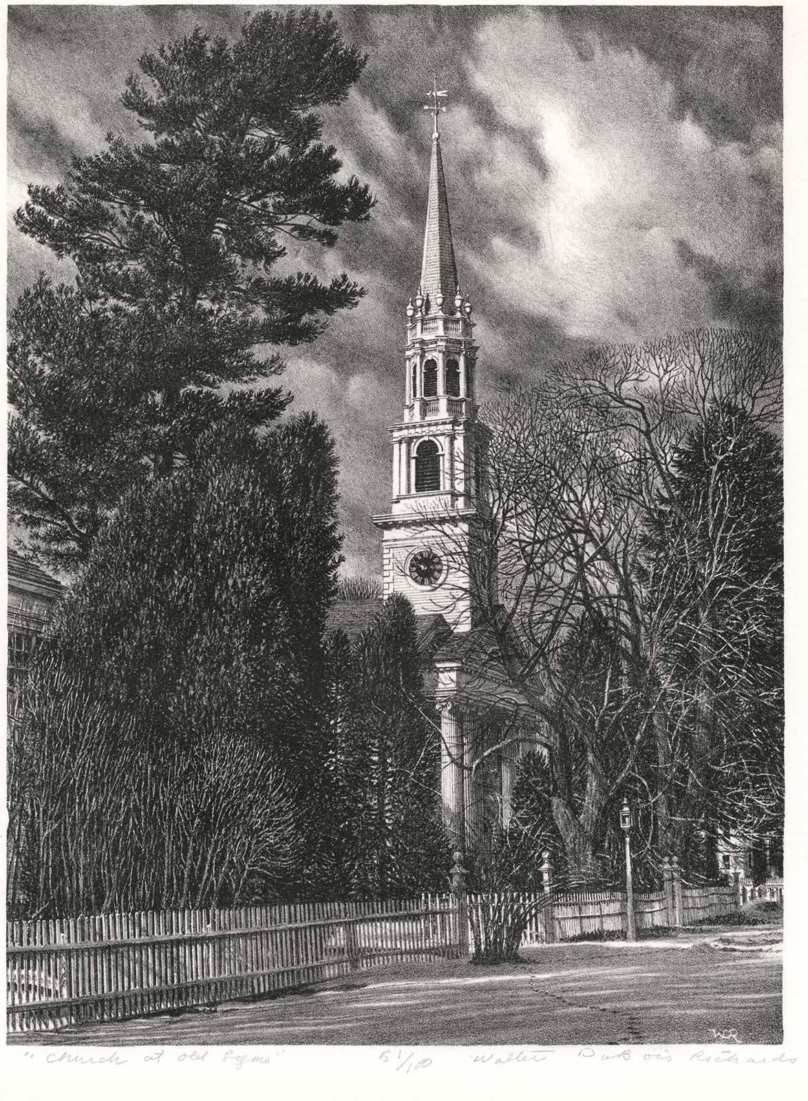 Congregational Church, Old Lyme, CT. (quintessential New England landmark)
