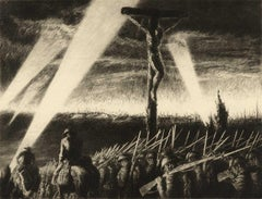 Barrage (Eby parallels WWI soldiers sacrifice with sacrifice of Christ on cross)