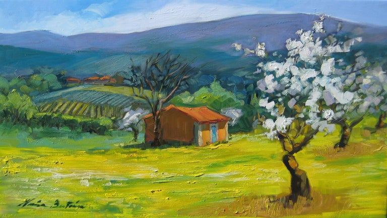 Maria Bertran The Beginning Of Spring Impressionist Painting In