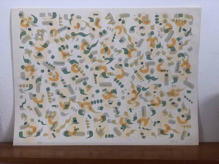 Lithograph, Gustavo Perez
